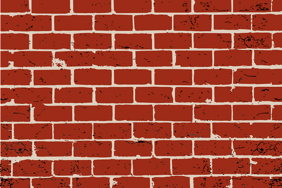Brick, Red Brick, Background, Grunge, Texture, Building - Brick HD PNG
