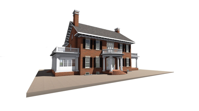 Brick House PNG HD