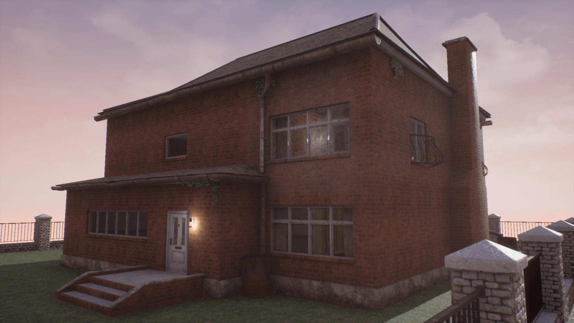 Brick House PNG HD - 130300