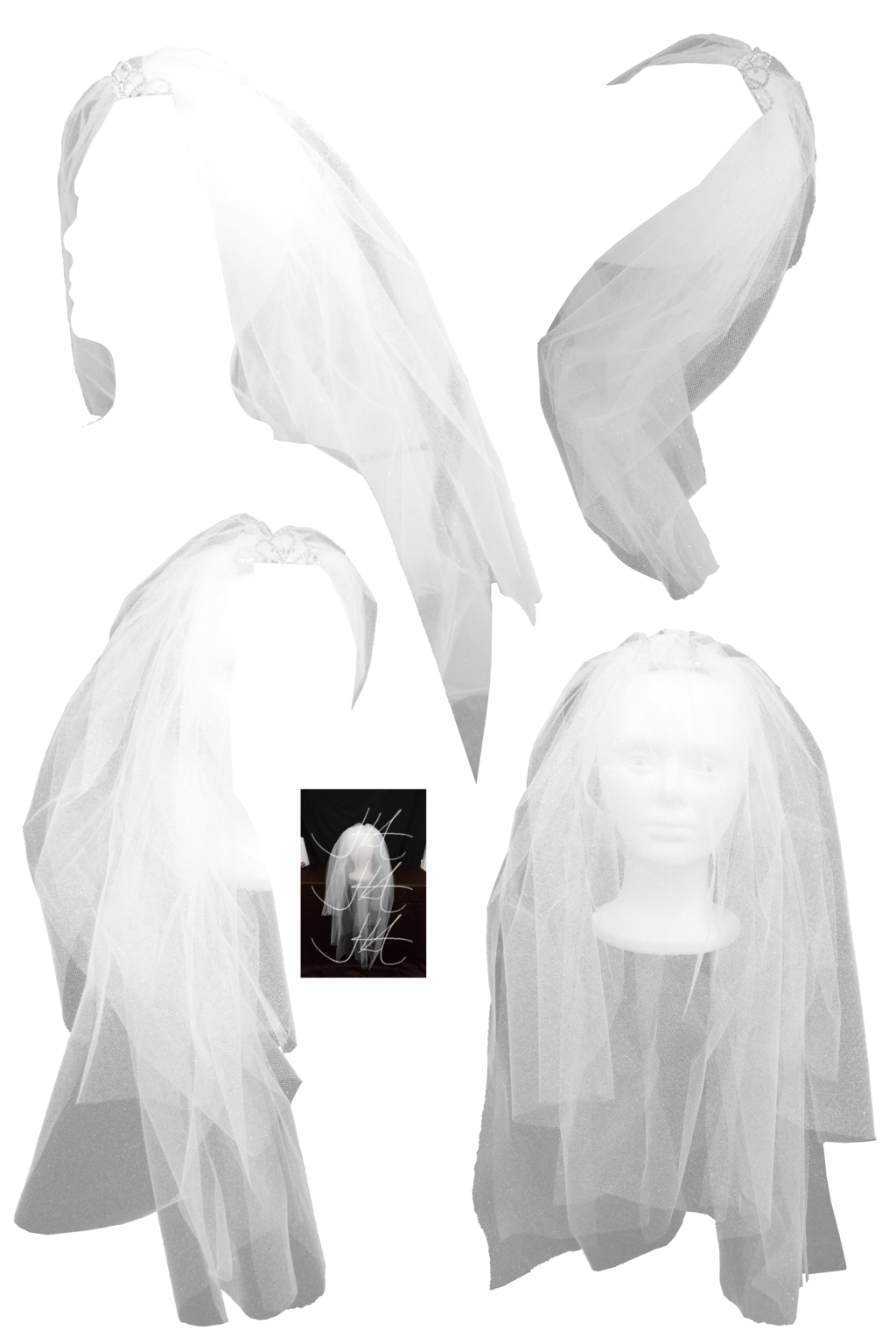 Bridal Veil PNG - 56516