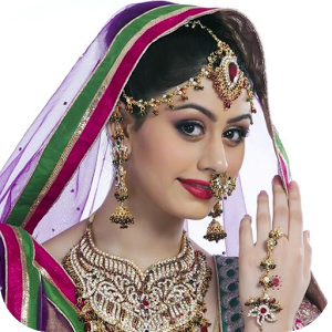 Bridal Makeup in Hindi - Bride HD PNG