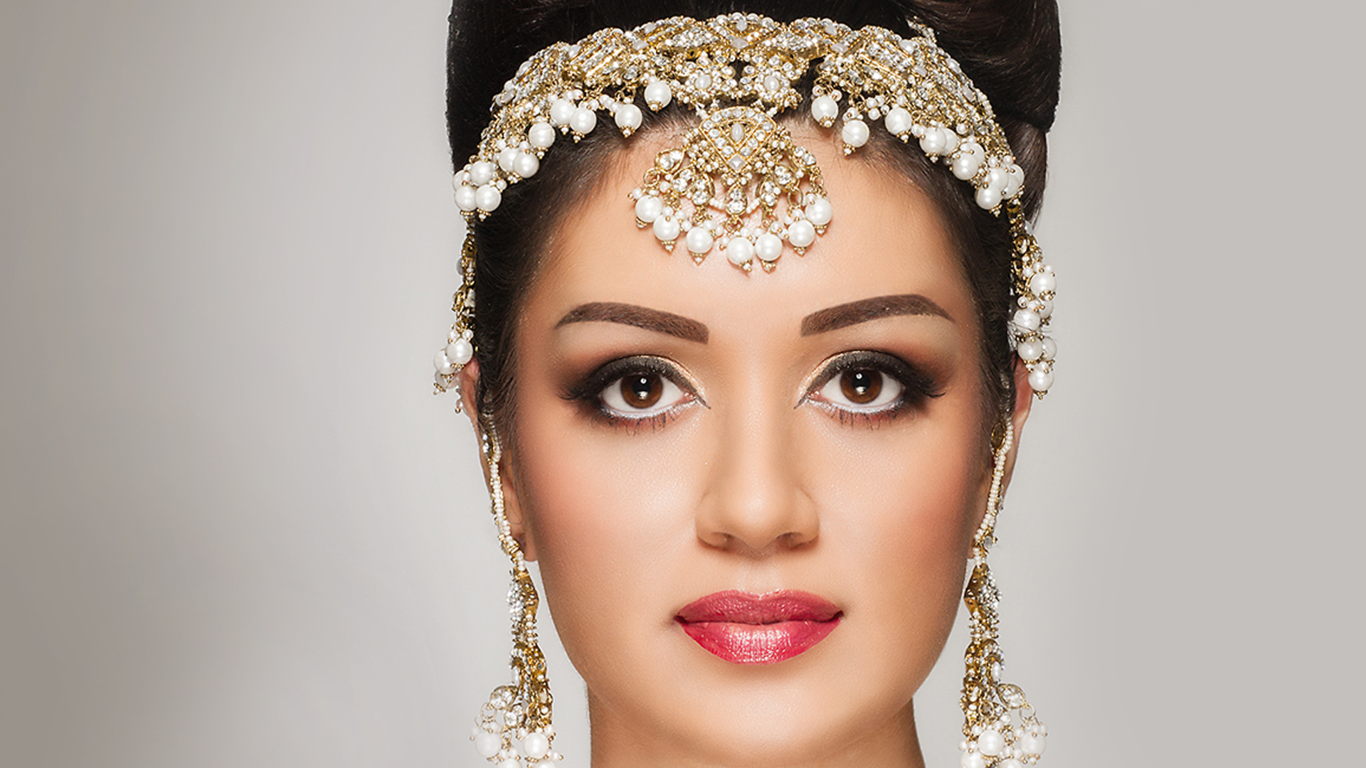 . PlusPng.com indian stani bridal ms studio toronto makeup artist hd PlusPng.com  - Bride HD PNG