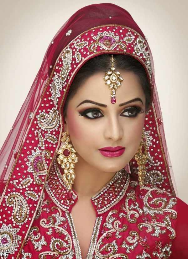 Latest Indian Bridal Frock By Jennifer 2015-2016 (4) - Bride HD PNG