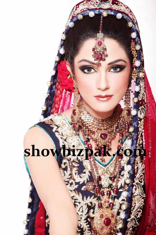 Model bridal makeup by khawar riaz - Bride HD PNG