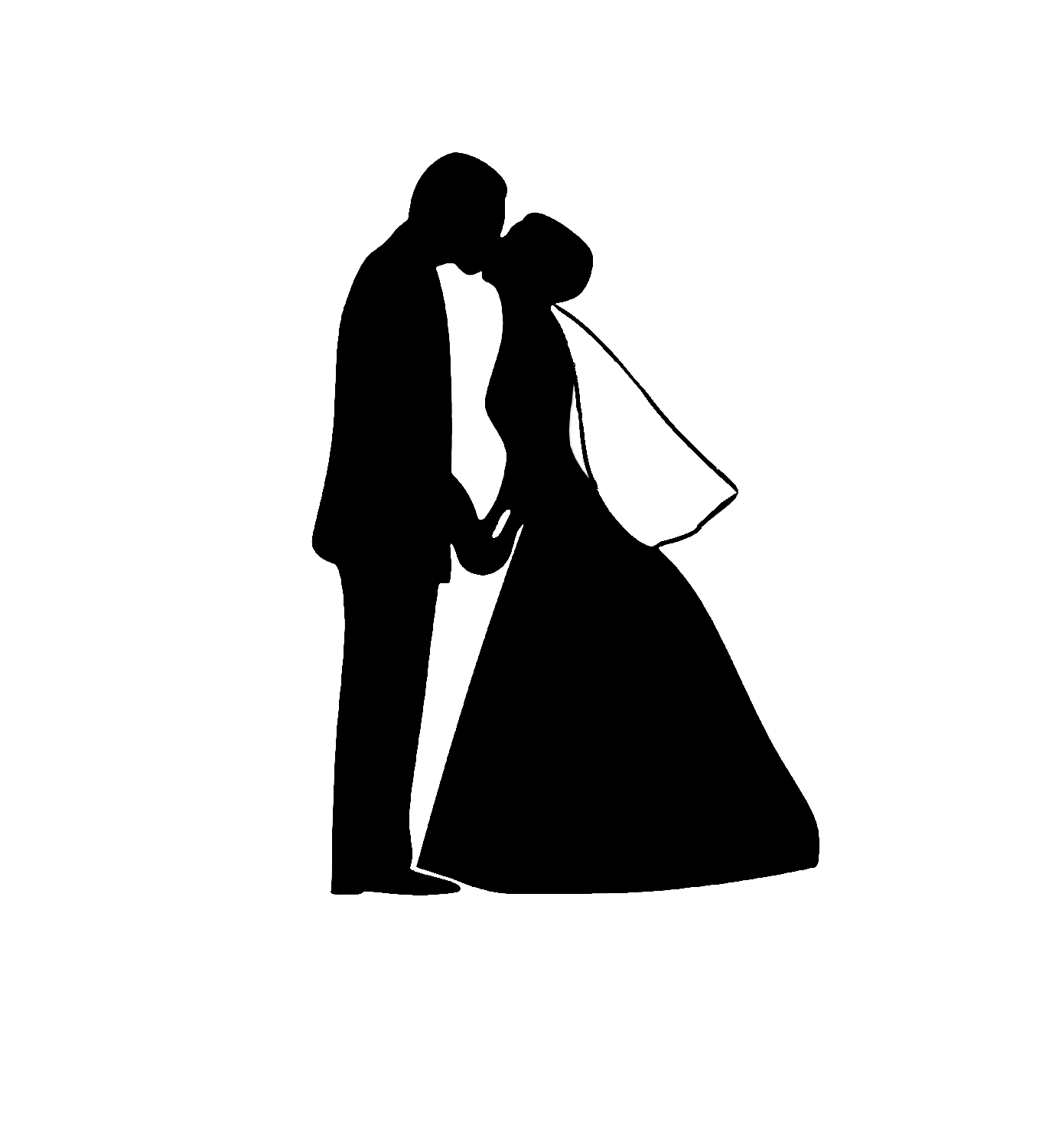 Bride PNG Black And White - 157300