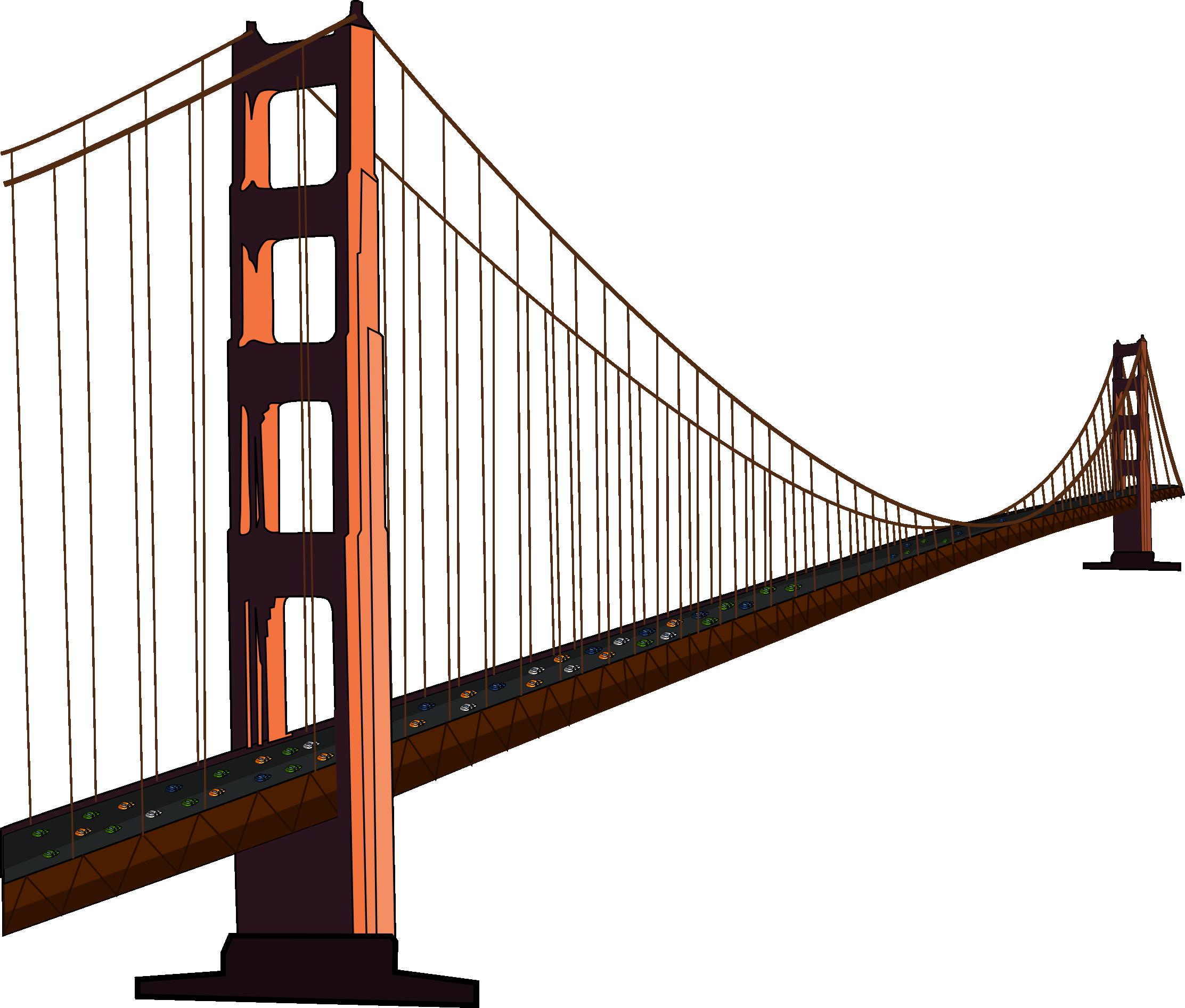 Bridge Clip Art Free - Bridges PNG HD