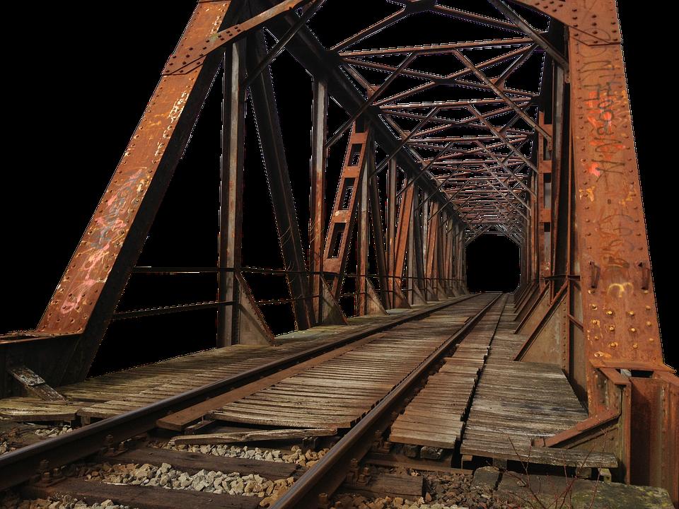 Bridge, Steel, Construction - Bridges PNG HD