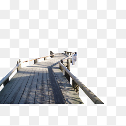 Water wood bridge, Bridge, Wood Bridge, Water PNG Image - Bridges PNG HD