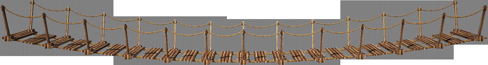 Wooden Bridge 3-A | Suspension Bridge 3-A | PNG by fumar- - Bridges PNG HD