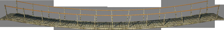 Wooden Bridge 3 | Suspension Bridge 3 | PNG by fumar-porros PlusPng pluspng.com - Bridges PNG HD