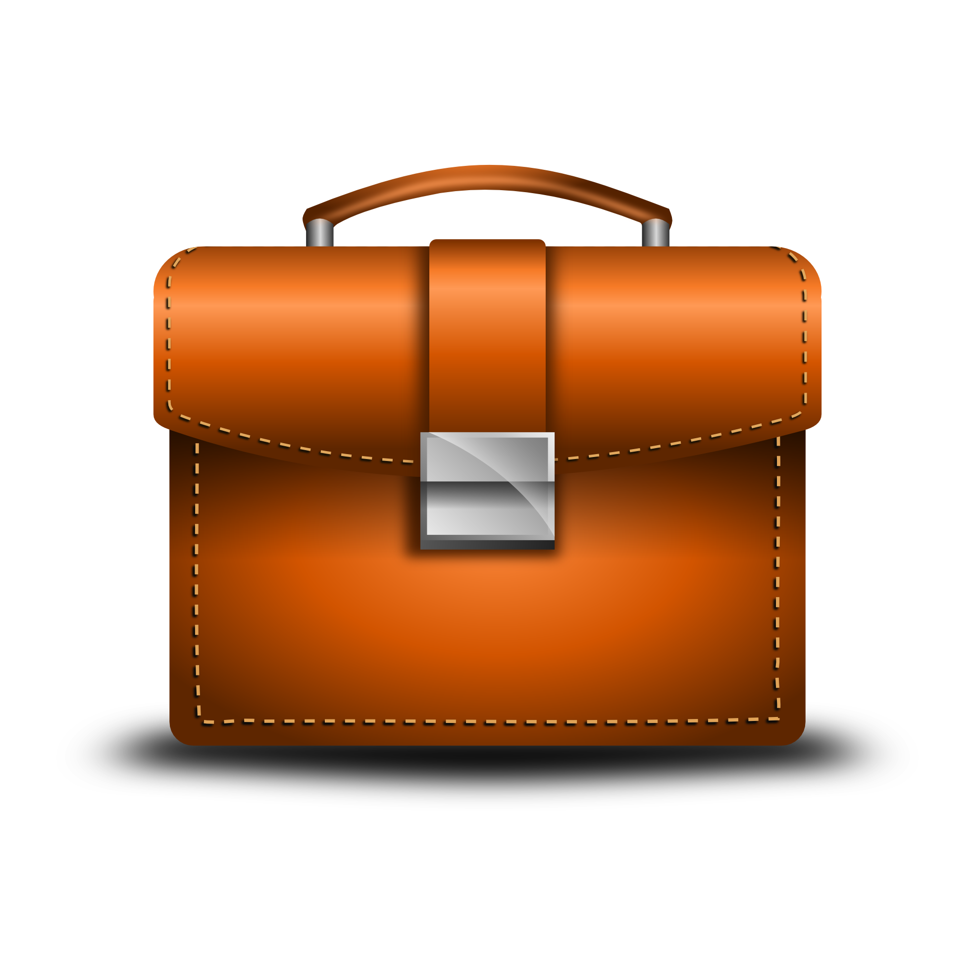 Briefcase - Briefcase HD PNG