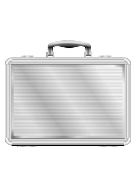 Briefcase Malette 555px.png - Briefcase HD PNG