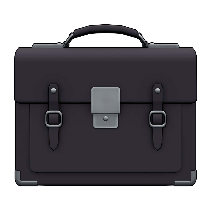 Free illustration: Briefcase, Handbag, Bag, Case - Free Image on Pixabay -  1316308 - Briefcase HD PNG