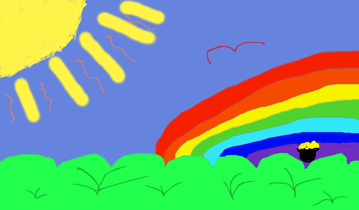 A bright sunny day at DeviantArt :) by xAnimefreakazoid PlusPng.com  - Bright Sunny Day PNG
