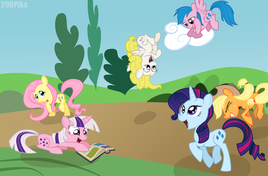 MLP: Concept 6 - Bright Sunny Day by ShutUpSprinkles PlusPng.com  - Bright Sunny Day PNG