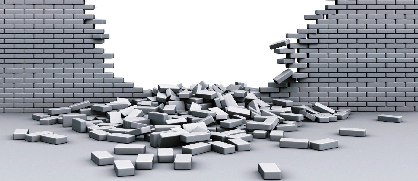 Broken Brick Wall PNG - 165813