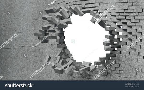 Broken Brick Wall PNG - 165823