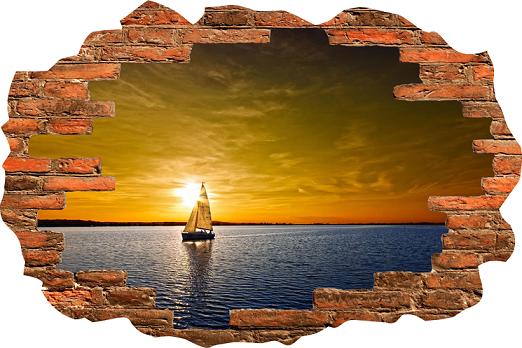 Home PlusPng.com  - Broken Brick Wall PNG