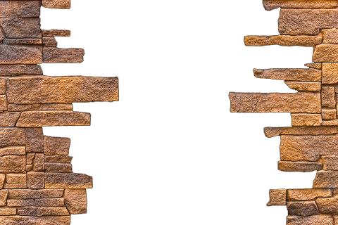 Share this Image - Broken Brick Wall PNG