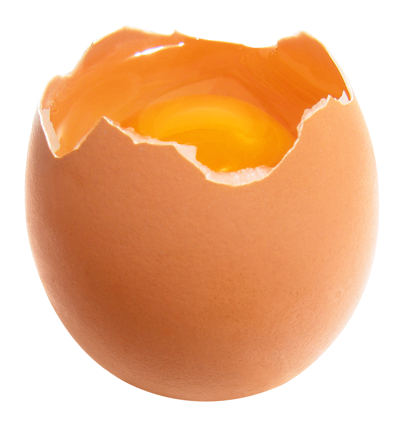 Broken eggs. PNG