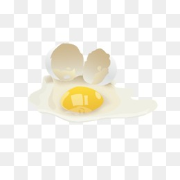 Broken Egg PNG HD - 124771