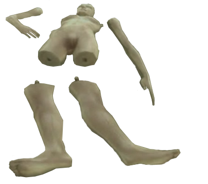 File:Dead rising mannequin full broken.png - Broken Elbow PNG