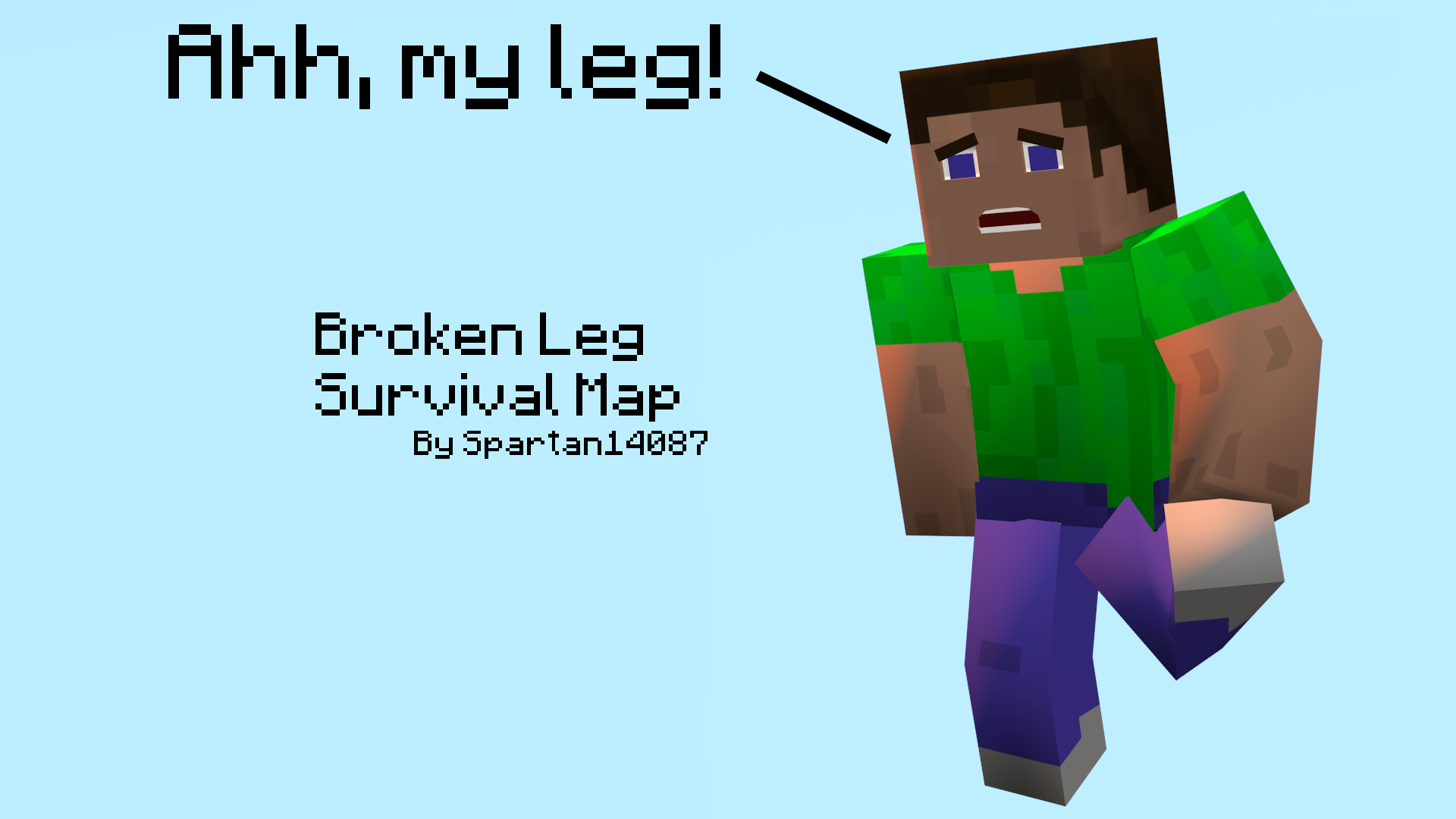 Ladies and gentlemen, I present to you, The Broken Leg Survival Map! - Broken Leg PNG HD