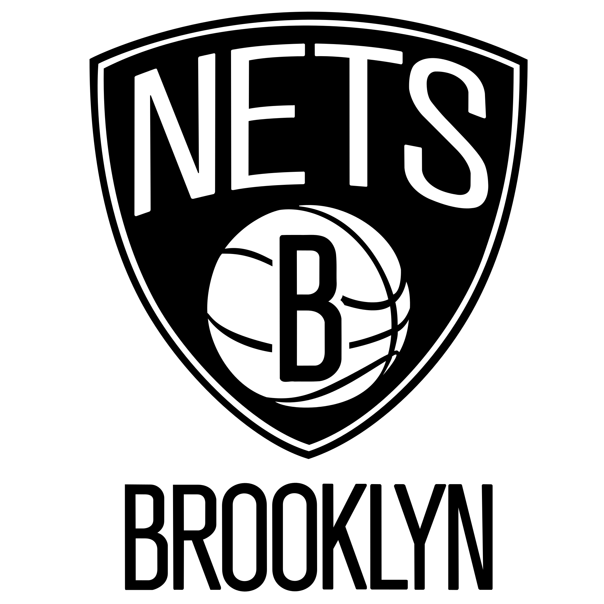 Brooklyn Nets Logo - Brooklyn Nets PNG