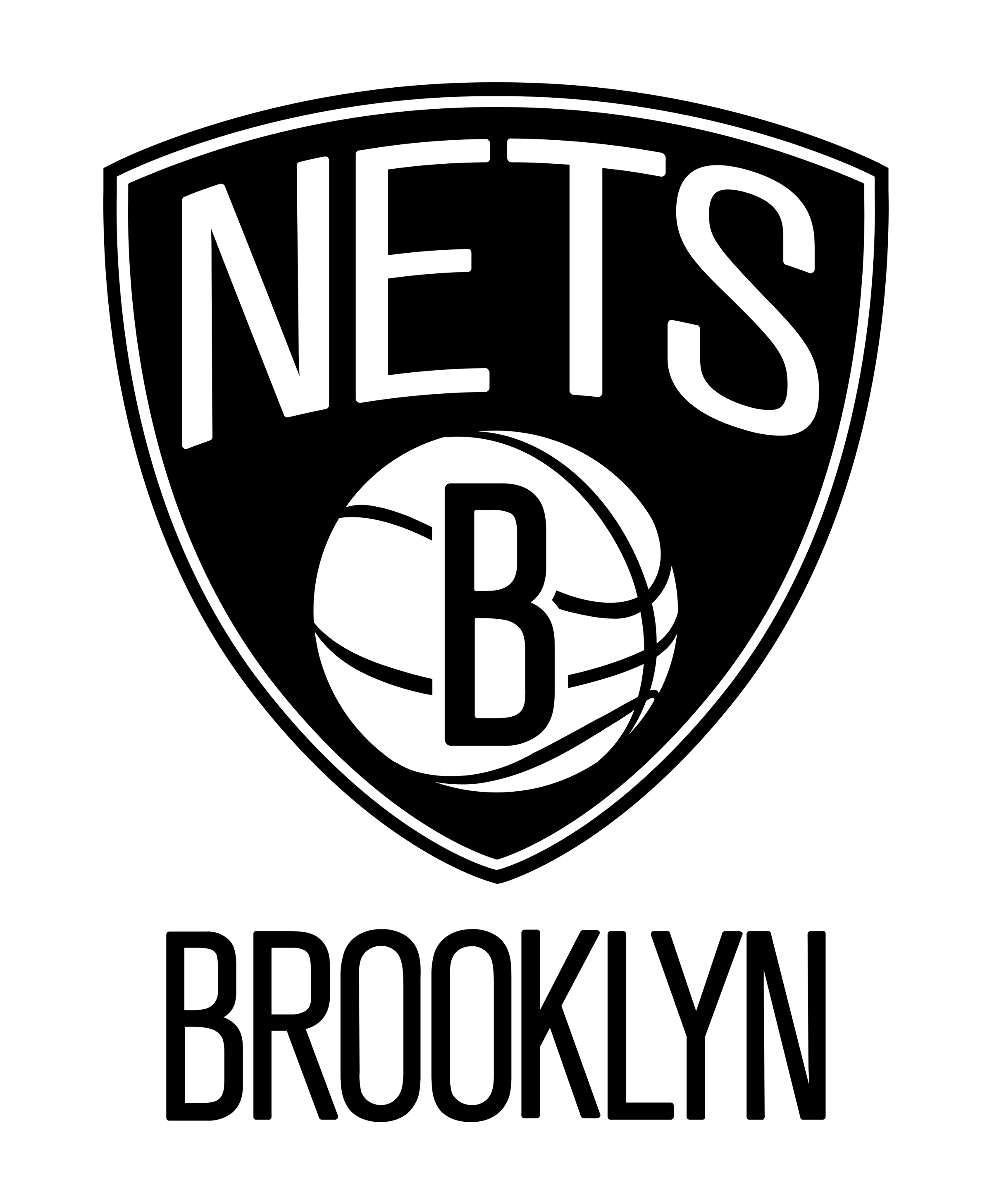 Brooklyn Nets logo transparent - Brooklyn Nets PNG