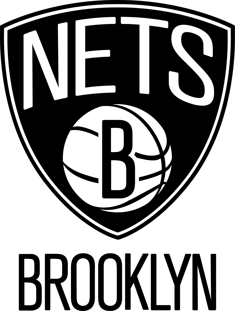 Open PlusPng.com  - Brooklyn Nets PNG