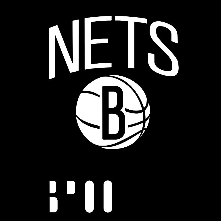 Present logo of the Brooklyn Nets - Brooklyn Nets PNG
