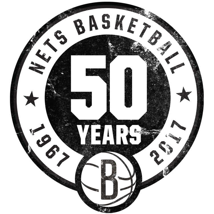 The 2016-17 Season Marks The 50th Season In Nets Franchise History And The  Fifth Since The Teamu0027s Move To Barclays Center In Brooklyn. - Brooklyn Nets PNG