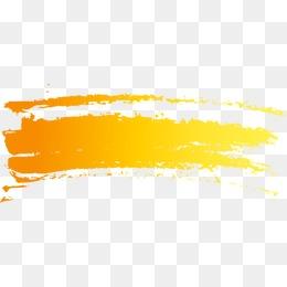 Orange Brush - Brush PNG