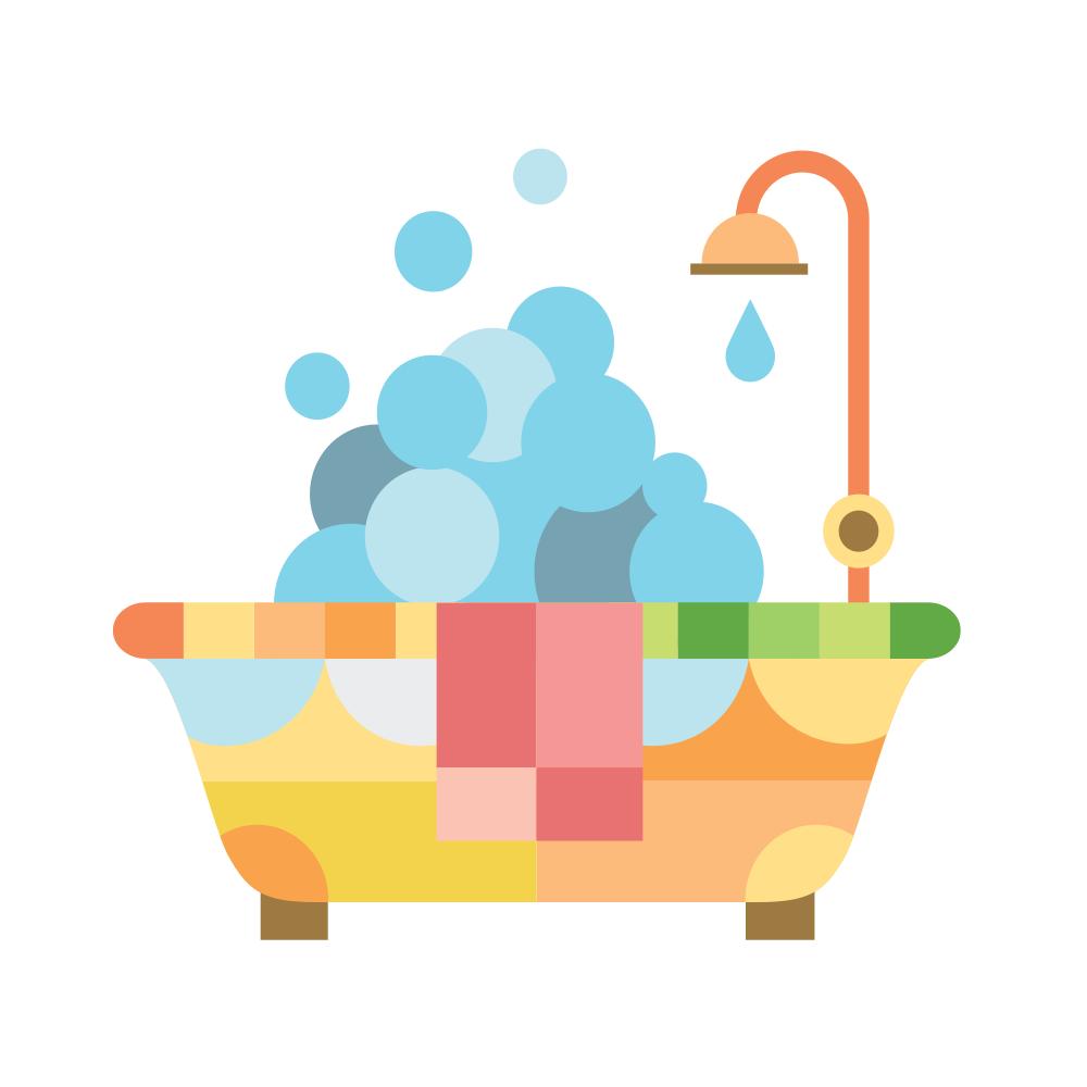 Bubble Bath PNG Free - 137151