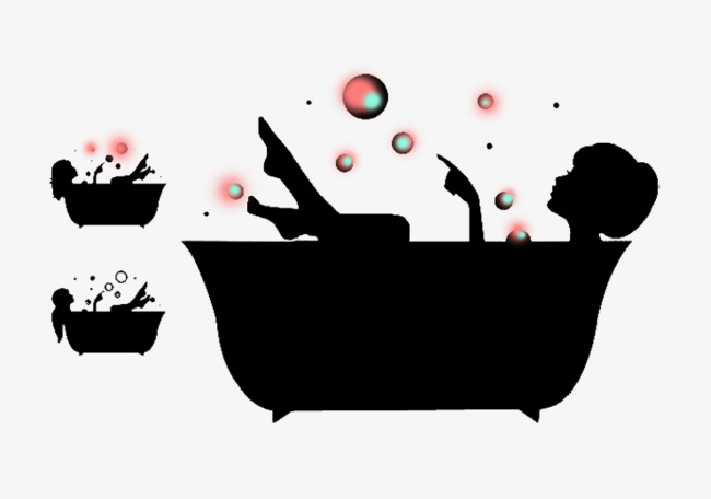Beauty Bubble Bath, Bathing, Black, Girls PNG Image And Clipart - Bubble Bath PNG Free