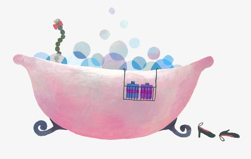 Bubble bath tub, Bathe, Bathtub, Hand Painted PNG Image and Clipart - Bubble Bath PNG Free