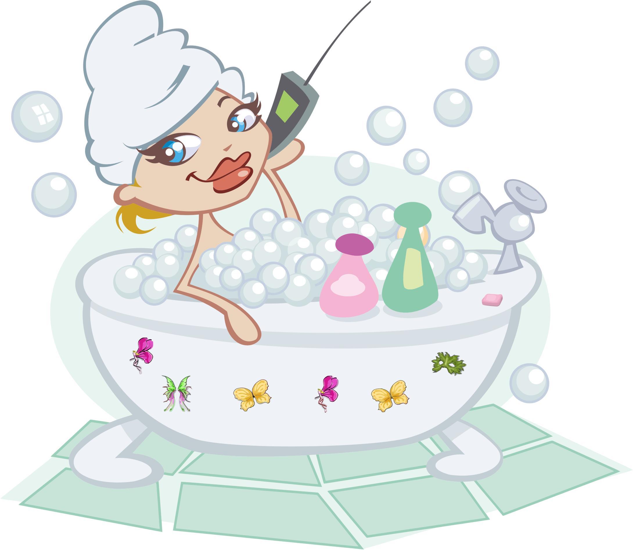 Bubble Bath PNG Free - 137147