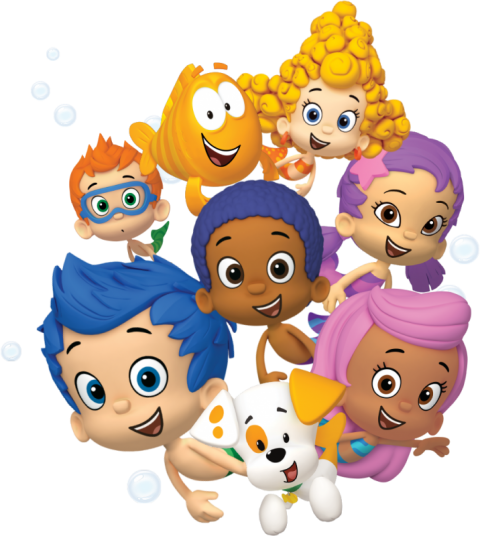 Bubble Guppies PNG HD-PlusPNG.com-480 - Bubble Guppies PNG HD