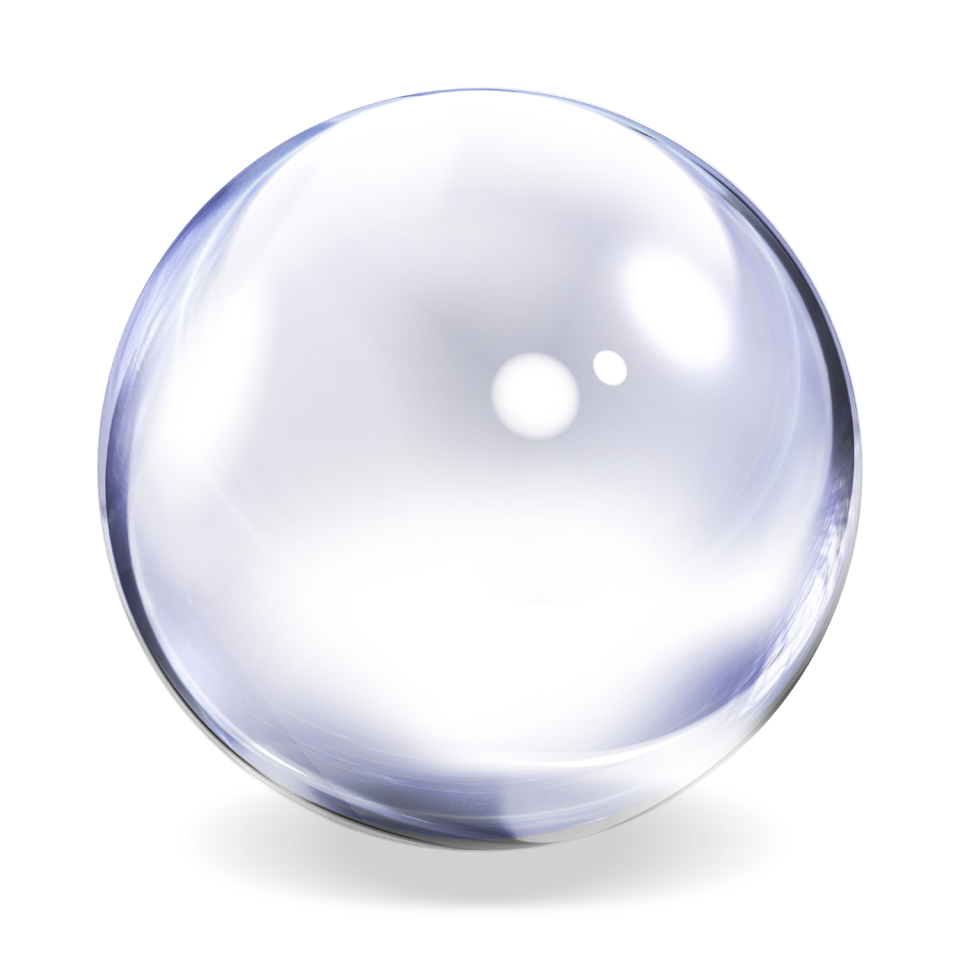 Bubble White Background High-Quality Image - Bubble PNG HD