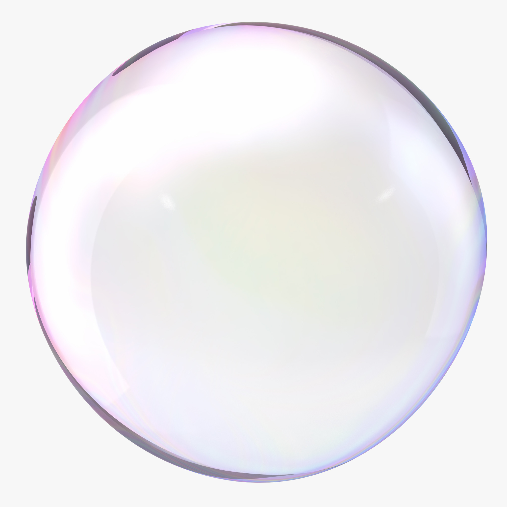 Bubble White Background HD Im