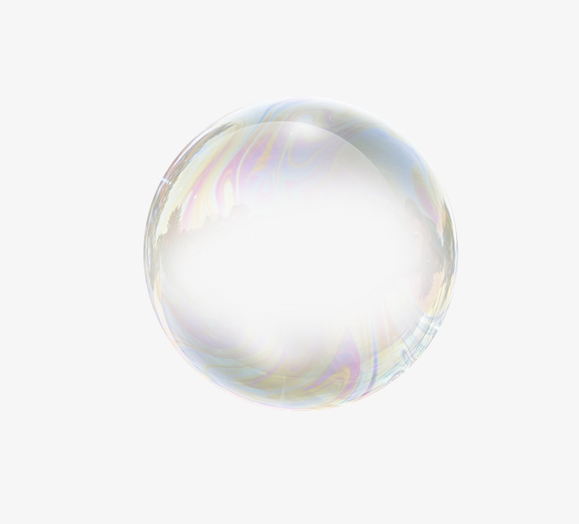 Colorful soap bubbles fly acr