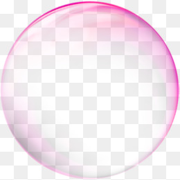 Rose Red Transparent Bubble Effect Element, Rose Red, Transparent, Bubble  PNG Image And - Bubble PNG HD