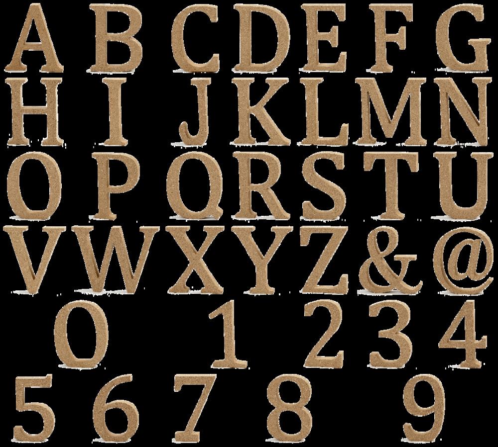 Holzbuchstaben Holzzahlen Buchstaben Zahlen MDF H: 8cm - Buchstaben Und Zahlen PNG
