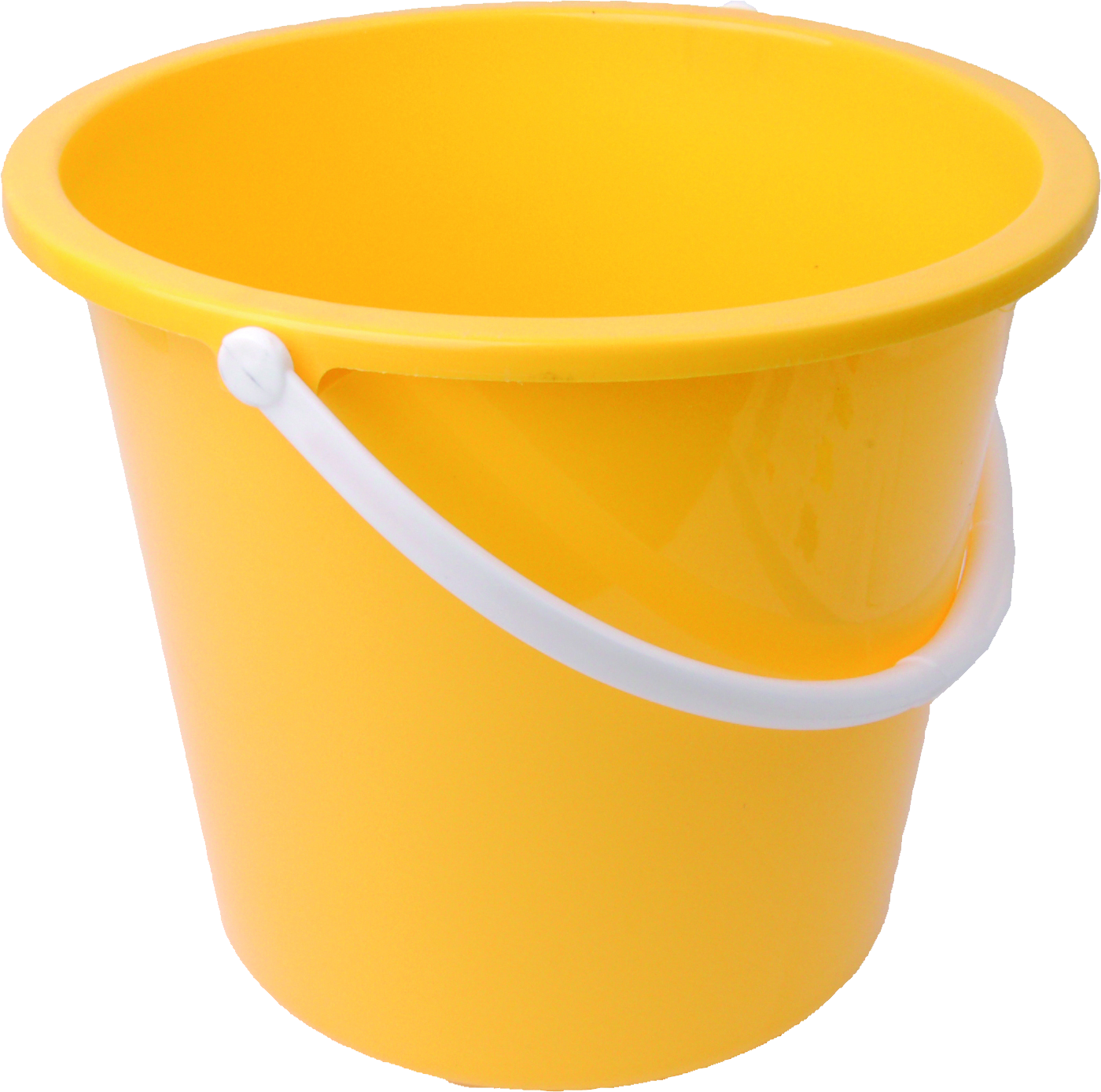 Plastic yellow bucket PNG image free download - Bucket HD PNG