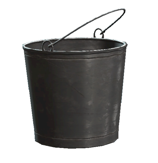 Image - Untarnished metal bucket.png | Fallout Wiki | FANDOM powered by  Wikia - Bucket PNG