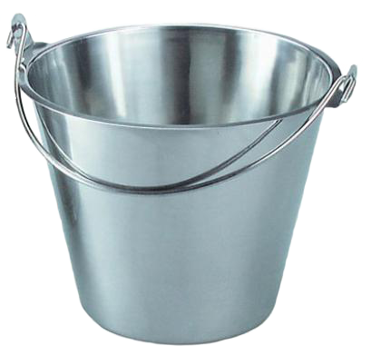 iron bucket PNG image - Bucket PNG