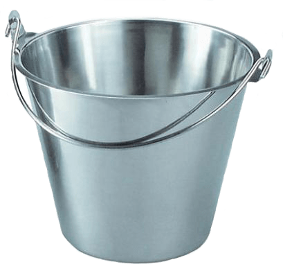 Iron Bucket Png Image PNG Image - Bucket PNG