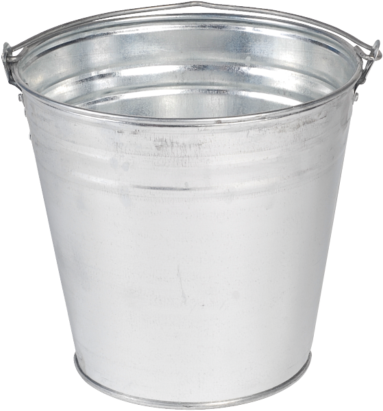 Metal Bucket PNG File - Bucket PNG