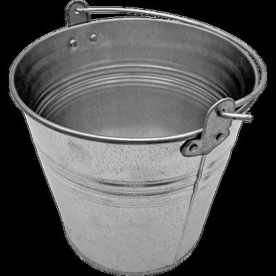 Metal Classic Bucket - Bucket PNG