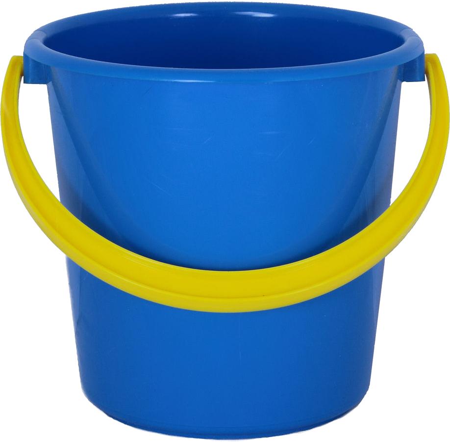 Plastic blue bucket PNG image - Bucket PNG